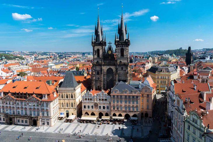 Las mejores zonas donde alojarse en Praga