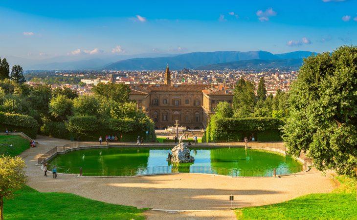 Jardines Boboli y Palacio Pitti: uno de los palacios más impresionantes de la ciudad.