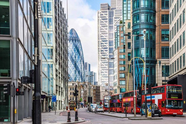 Itinerario Londres: visita al distrito de Briklane