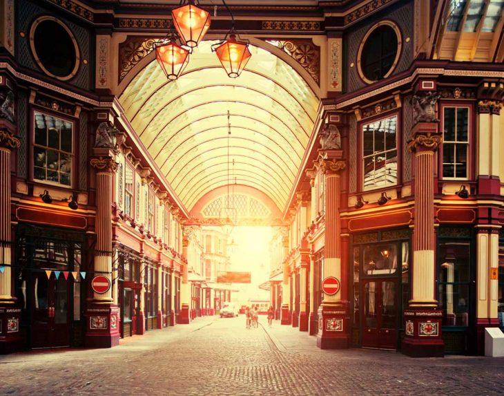 Leadenhall Market: bonito mercado en Londres