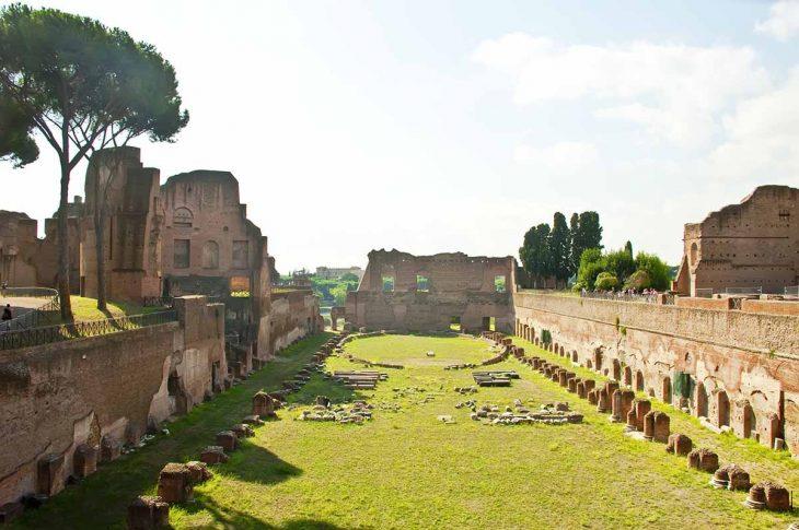Monte del Palatino para ver en Roma