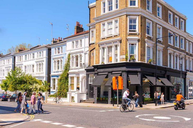 Visitar Londres: Nottinghill