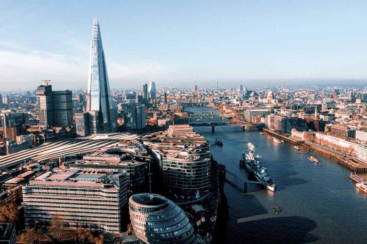 Visitar el HMS Belfast y The Shard en Londres