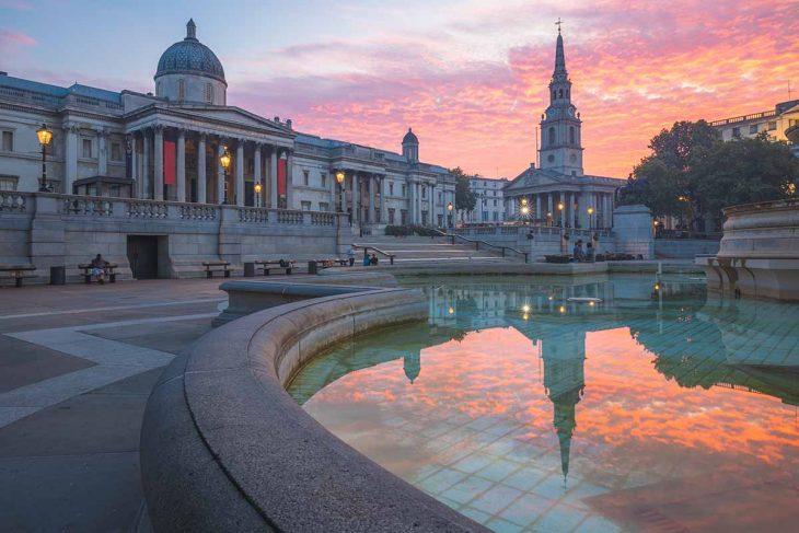 Visitar Londres: Trafalgar square